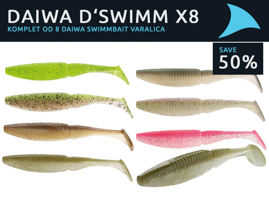 Daiwa Tournament D'Swimm Buy 4 get 4 For Free 50%