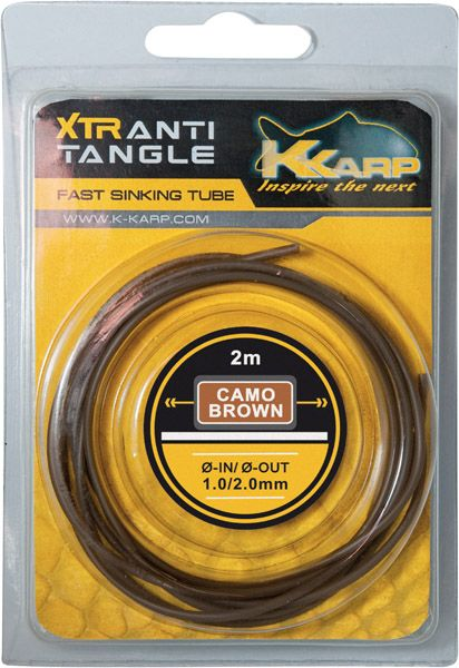 K-Karp XTR anti Tangle Shrink tuba Smeđa