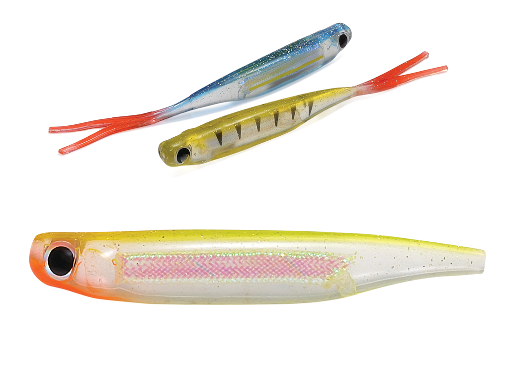 Rapture Power Minnow Fork Tail 75mm CL