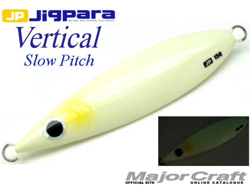 Major Craft Slow Pitch Jigging Lure JIGPARA Slow 150g