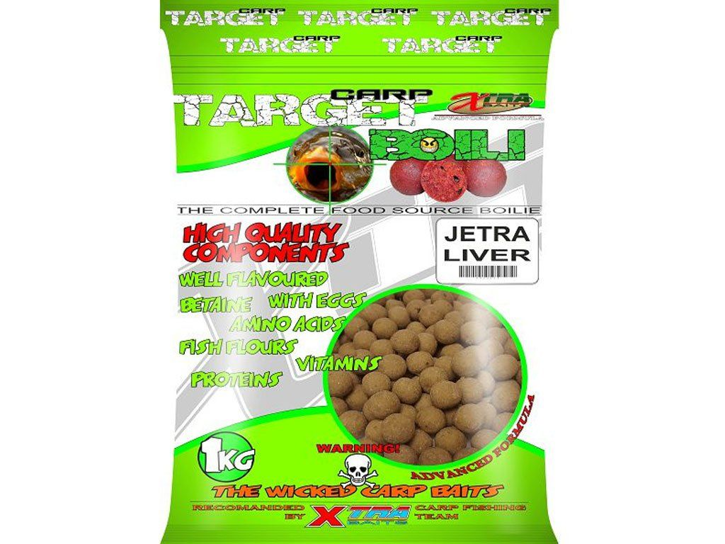 Xtra Baits Boile 16mm Liver - Jetra 1kg