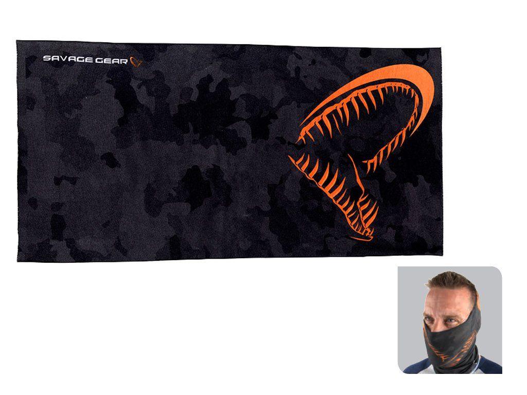 Savage Gear Black Savage Tec-Tube w//Fleece Microfiber Soft micro fleece