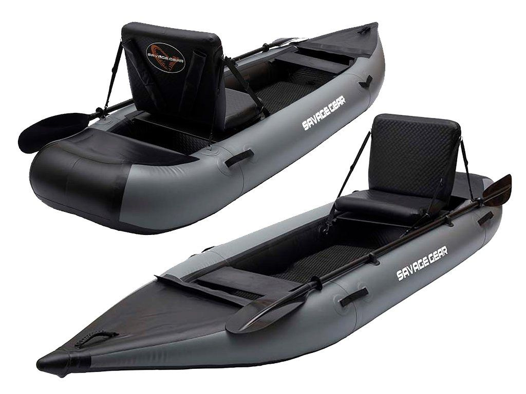 Savage Gear HighRider Kayak 330, aluminium