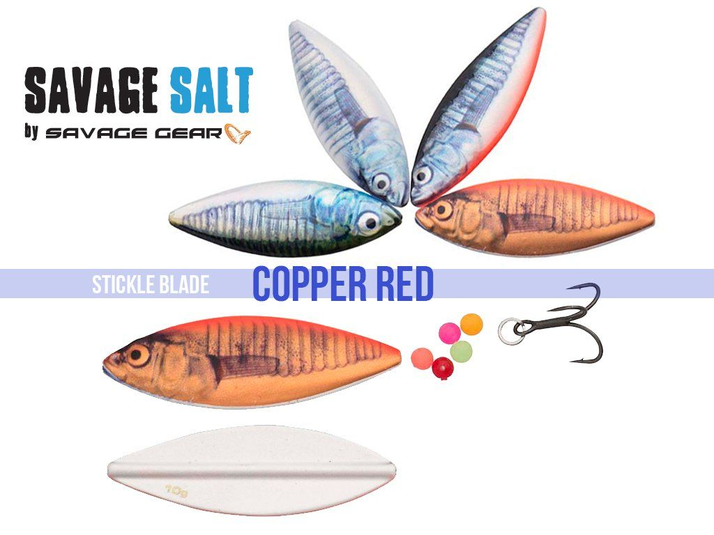Savage Gear LT Stickle Blade 5.2cm, 10g Copper Red