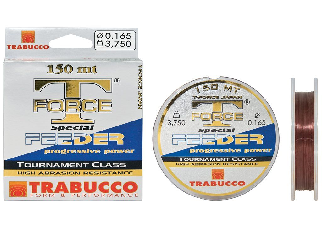 Trabucco T-Force Special Feeder 150m 18.52lbs, 0.250mm