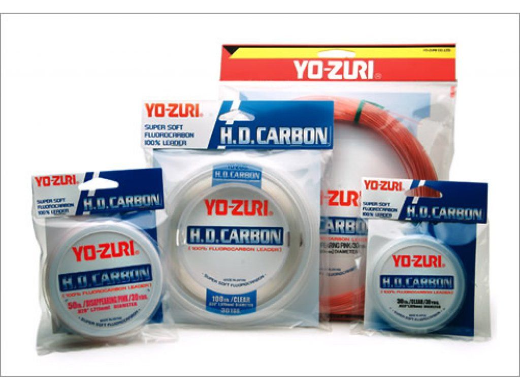 Yo-Zuri H.D. Carbon Leader DP, 4lb