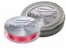 Climax Platinum Braid Fluo Red 135m, 0.12mm