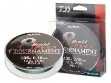 Daiwa Tournament 8-Braid EVO 300m, 0.12mm DG