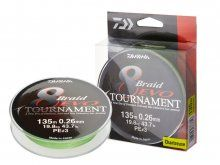Daiwa Tournament 8-Braid EVO 300m, 0.10mm
