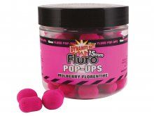 Dynamite Baits Mulberry Fluorentine Pop Ups & Dumbell 15mm
