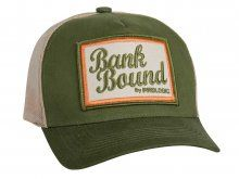 Prologic Bank Bound Mesh Cap, Green/Beige