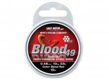 Savage Gear Blood 49 Steel Wire 10m, 0.48mm