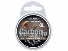 Savage Gear Carbon 49 Stainless Steel Wire 10m, 0.48mm