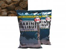 Dynamite Baits Marine Halibut Pellets 16mm Pre Drilled 900g
