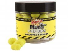 Dynamite Baits Fluo Pop Up Pineapple & Bannana 15mm + Booster