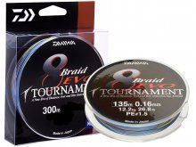 Daiwa Tournament EVO Multicolor 300m, 0,26mm