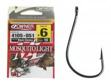 Owner Mosquito Light Hook 4105, Size 10