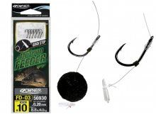 Owner Method Feeder Rig Quick Stop 56930 FD-08, Size 10
