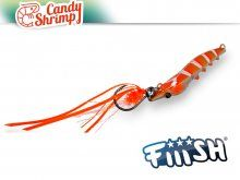 Fiiish Candy Shrimp 72mm, 60g Orange Fight