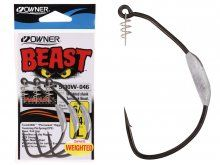 Owner 5130W Beast Hook Weighted 10/0, 1/2 Oz