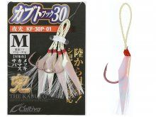 Owner Kabuto Jigging Hook KF30P-01, L