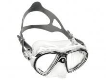 Cressi Air Mask Crystal, Black White Frame