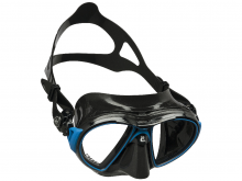 Cressi Air Mask Black,Black Blue Frame