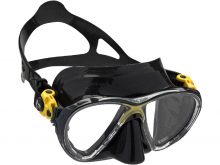 Cressi Big Eyes Mask Evolution Black Yellow