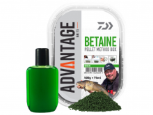 Daiwa Advantage Method Box Pellets Green Betaine 500g