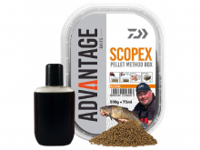 Daiwa Advantage Method Box Pellets Scopex 500g