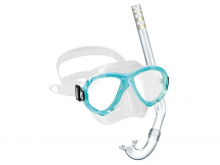 Cressi Perla Mare Junior Set Aquamarine