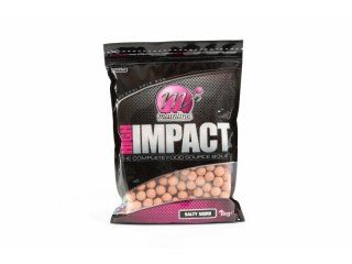Mainline Baits High Impact Boilie 16mm Salty Squid 1kg