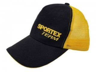 Sportex Base Cap Black With Yellow Net