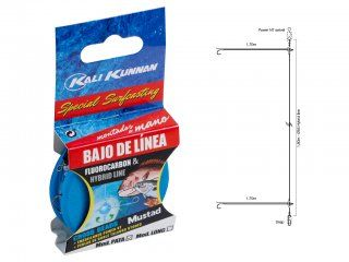 Kali Kunnan Long Fluorocarbon Chinu 4, 0.33mm