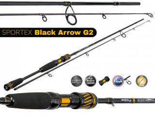 Sportex Black Arrow G2 BA1812 1.80m, 3-13g