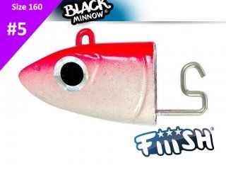 Fiiish Black Minnow 160 BM875 Jig Head Off Shore 60g Pink Fluo 2pcs