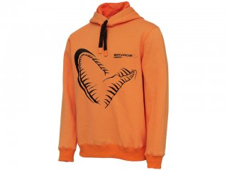 Savage Gear Mega Jaw Hoodie Sun Orange XXL