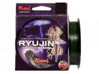 Momoi RYUJIN 8PE Braid 130m Moss Green 0.12mm