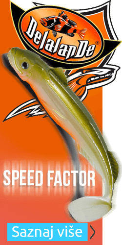 Delalande Speedfactor 13cm fishing lure in Fire Tiger color